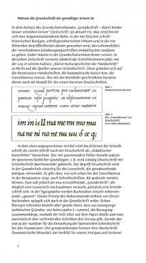 Warum die Grundschrift ein gewaltiger Irrtum ist – Beitrag in Deutsche Sprachwelt, Jürgen Weltin, http://deutschesprachwelt.de/archiv/papier/dsw52.shtml