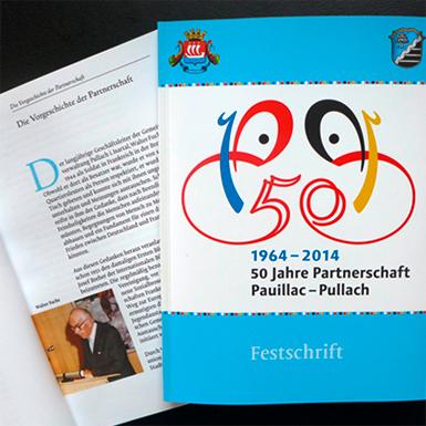 Print by Jürgen Weltin jumelage
