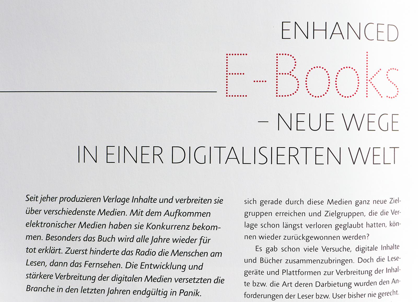 Abbildung aus der Zeitschrift Streifband für Auszubildende in Verlag und Buchhandel, Projekt des Studiengangs Buch- und Medienproduktion der HTWK Leipzig