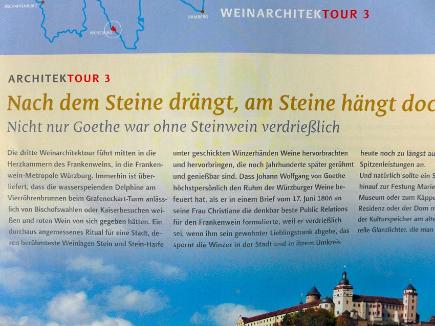 Wein- und Architekturführer Franken Wein.Schöner.Land! http://www.franken-weinland.de
