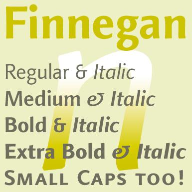 Typefaces by Jürgen Weltin