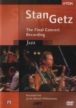 Stan Getz DVD packaging