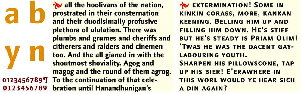 Linotype Finnegan Bold & Small Caps