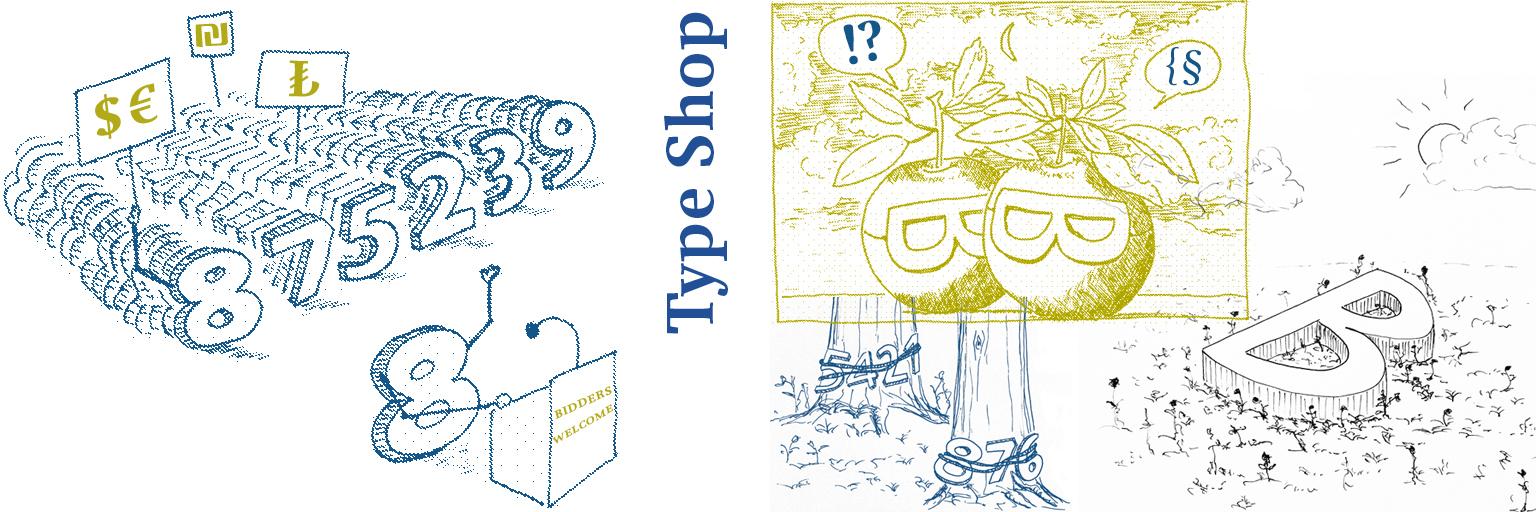 Schriften Kaufen type shop type matters