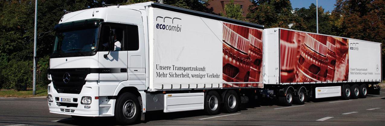 Mercedes-Benz ecocombi Lastzug