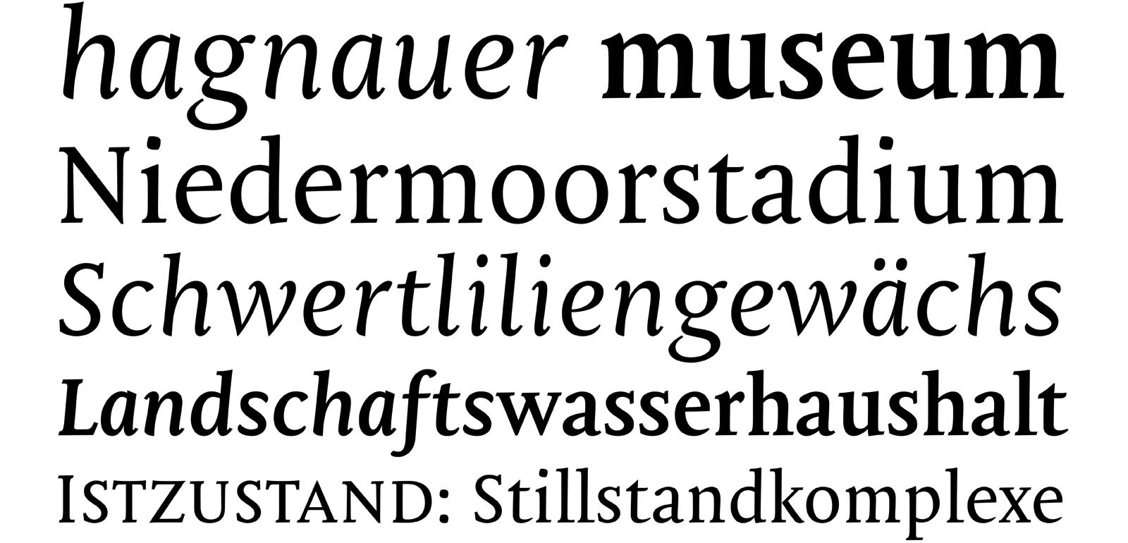 Mantika Book specimen by Jürgen Weltin Type Matters