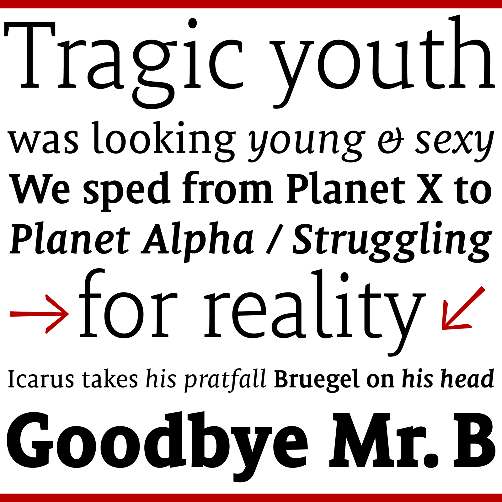 Fonts of Mantika News typeface family by Jürgen Weltin Type Matters