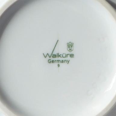 Logo Redesign für Walküre Porzellanfabrik Bayreuth (photo: Jürgen Weltin)