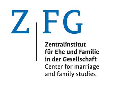 Logo für das Zentralinstitut für Ehe und Familie in der Gesellschaft (ZFG), eine zentrale Forschungseinrichtung der Katholischen Universität Eichstätt-Ingolstadt