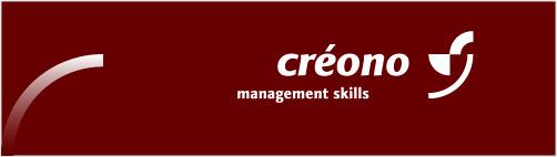Logo für créono management skills, Personaltraining Silke Weigang, Meersburg