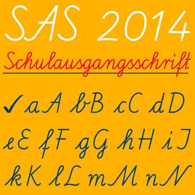 SAS 2014 Schulausgangsschrift