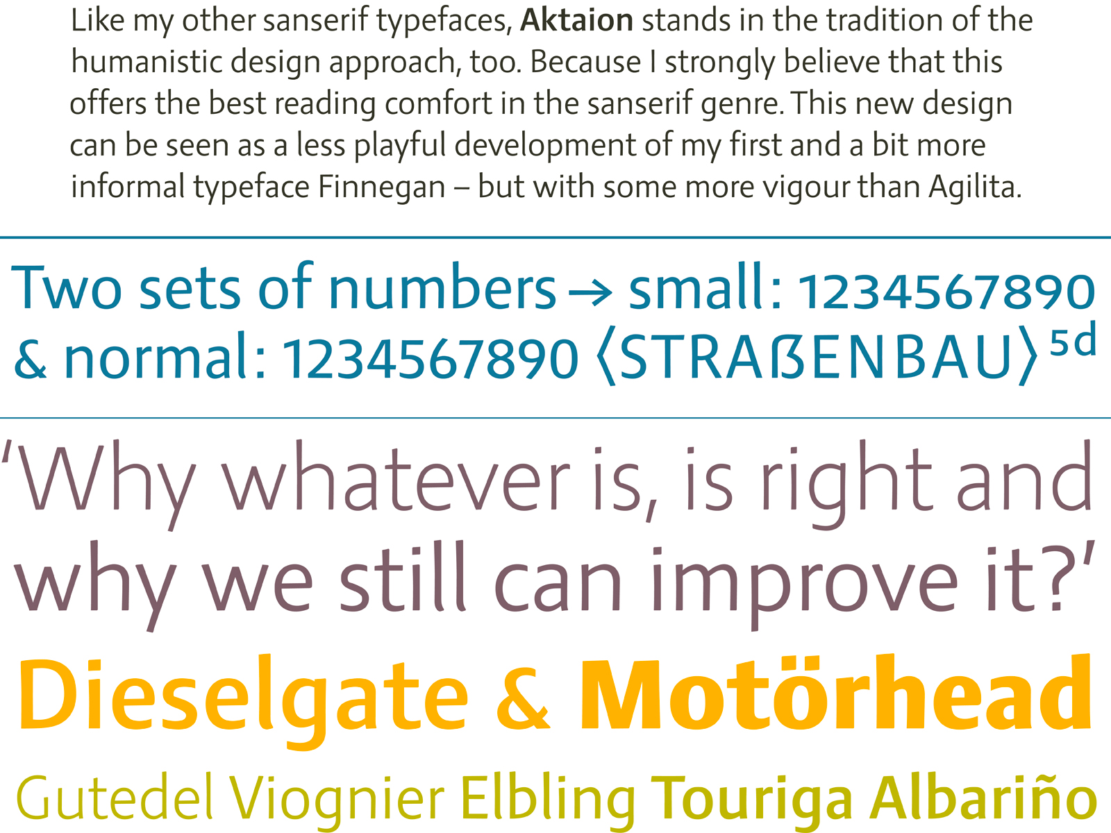 design concept of Aktaion typeface by Jürgen Weltin type matters